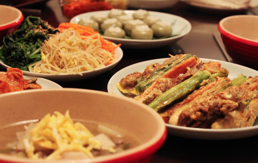 Various Types of Korean Traditional Foods