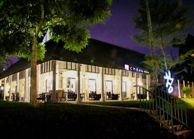 Chang Restaurant Outdoor Night View